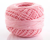 Pink yarn Royalty Free Stock Images