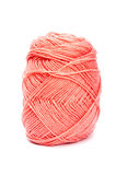 Pink yarn wool for knitting Royalty Free Stock Photography
