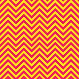 Pink and yellow chevron pattern Royalty Free Stock Photography