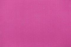 Pink yoga mat closeup. Royalty Free Stock Image