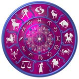 Pink zodiac Stock Photo