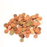 Pinkglod monety zdjęcia stock