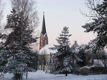 Pinki教会  库存图片