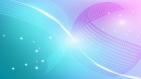 Pinkish blue abstract background with sphere objects.  vector illustration