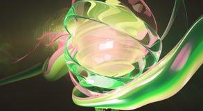 PInkish digital art Stock Images