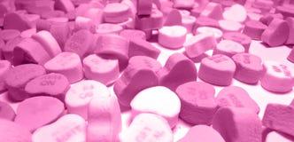 Pinkoni. Pink heart jumble royalty free stock image