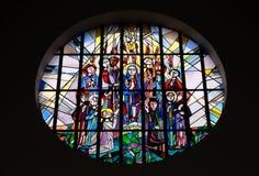 Pinksteren, Afdaling van Heilige Geest stock foto's