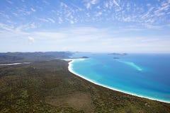Pinkstereneiland Australië Royalty-vrije Stock Afbeelding