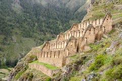 Pinkulluna Inca ruins near Cusco Royalty Free Stock Photos