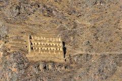 Pinkulluna Inca ruins Royalty Free Stock Photos
