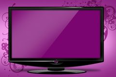 Pinky HDTV Illustration Stock Photography