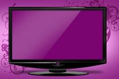 Pinky HDTV Illustration stock photography
