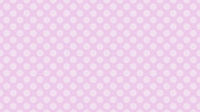 Pinky Polka dot pattern background Stock Images