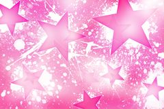 Pinky Stars Stock Foto's