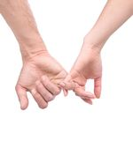 Pinky swear Royalty Free Stock Image