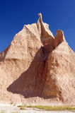 Pinnacle in the Badlands Stock Photography