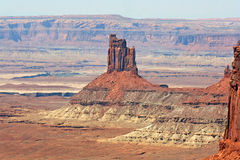 Pinnacle in Canyonlands Stock Photography