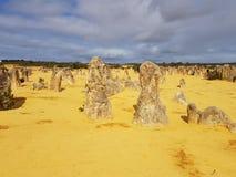 Pinnacle Desert Nambung National Park Western Australia royalty free stock image