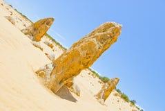 Pinnacle Desert at Nambung NP Western Australia Royalty Free Stock Photos