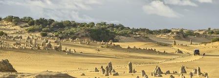 Pinnacle desert panorama Royalty Free Stock Photos