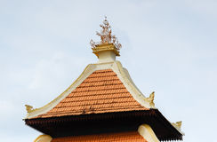 Pinnacle of Kampung Duyong Mosque in Malacca Royalty Free Stock Image