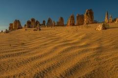 Pinnacle. Limestone Pinnacle, Western Australia, Perth Royalty Free Stock Image