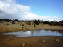 Pinnacle in Nambung national park Stock Photos
