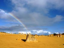 Pinnacle in Nambung national park Stock Photo