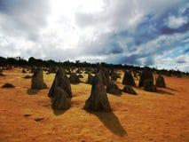 Pinnacle in Nambung national park Stock Image