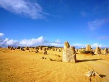 Pinnacle in Nambung national park Royalty Free Stock Photos