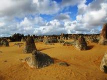 Pinnacle in Nambung national park Royalty Free Stock Images