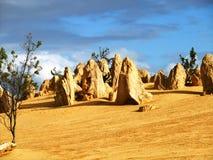Pinnacle in Nambung national park Royalty Free Stock Image