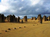 Pinnacle in Nambung national park Royalty Free Stock Photography