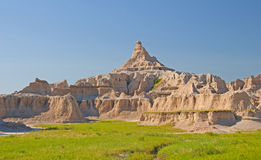 Pinnacle over the Badlands Royalty Free Stock Images