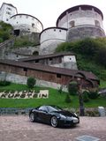Pinnacle Porsche. Kufstein Fortrace Cayman Royalty Free Stock Photo
