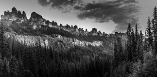 Pinnacle Ridge San Juan Mountains. East fork of the Cimarron River Royalty Free Stock Photography