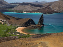 Pinnacle Rock, Bartolome Island, Galapagos Archipelago Royalty Free Stock Photo