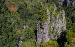 Pinnacle Rock in Mpumalanga South Africa. The Pinnacle Rock in the Blyde River Canyon near the town of Graskop in the Mpumalanga Province of South Africa Stock Images