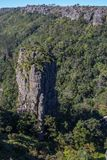 Pinnacle Rock in Mpumalanga South Africa. The Pinnacle Rock in the Blyde River Canyon near the town of Graskop in the Mpumalanga Province of South Africa Stock Photos
