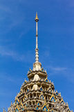 Pinnacle of the temple Stock Images