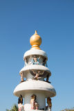 Pinnacle of the temple Stock Photo