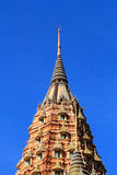Pinnacle of the Thai temple Stock Photography