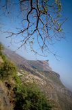 Pinnacle View. A pleasant day in Sahyadri Hills of Maharashtra in western India Stock Photos