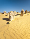 Pinnacles. An image of the strange desert Pinnacles in Australia Stock Images