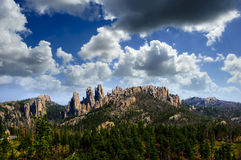 The  Pinnacles Royalty Free Stock Images