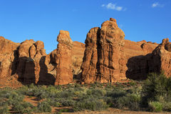 Pinnacles, Arches National Park, Moab Utah Stock Photo