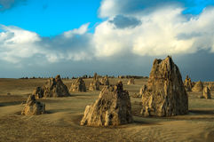 Pinnacles, Australia Royalty Free Stock Image