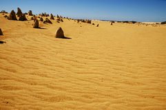 The Pinnacles - Australia Royalty Free Stock Images
