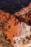 Pinnacles and canyons Stock Photography