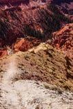 Pinnacles and canyons Royalty Free Stock Images